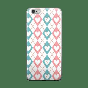 Diamonds Of Love iPhone 5/5s/Se, 6/6s, 6/6s Plus Case