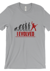 Guitar Player Evolution - I Evolved t-shirt