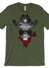 Men's SENIOR OFFICER SKULL t-shirt