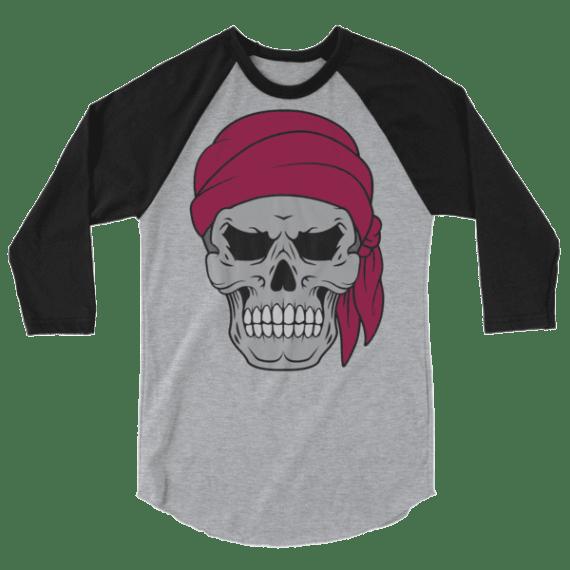 Pirate Skull & Flag Long-Sleeve Shirt