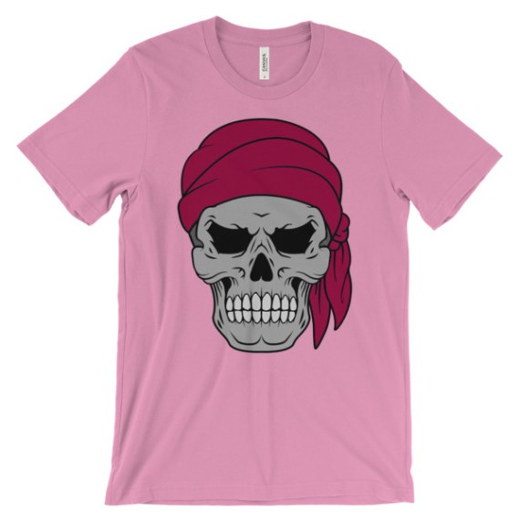 Pirate Skull & Flag t-shirt
