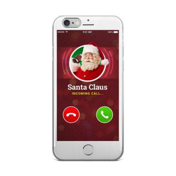 Santa Clause Is Calling - iPhone 5/5s/Se, 6/6s, 6/6s Plus Case