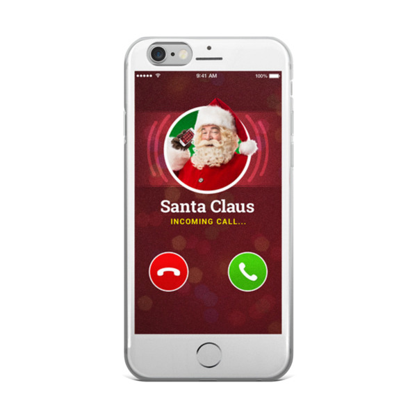 Santa Clause Is Calling - iPhone 5/5s/Se, 6/6s, 6/6s Plus Case