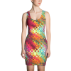 Tileable Tropical Abstract Patterns Dress