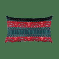 Tribal Band Rectangular Pillow