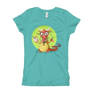 Girl's Traditional Chinese Dragon T-Shirt