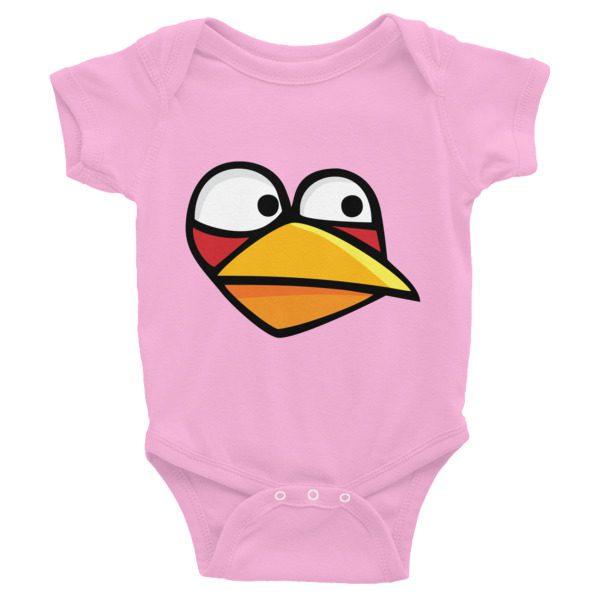 Angry Blue Bird Infant Bodysuit