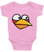 Angry Blue Bird Infant Bodysuit