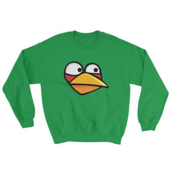Angry Blue Bird Sweatshirt