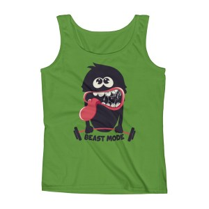 Ladies' BEAST - Mode Workout Tank Top