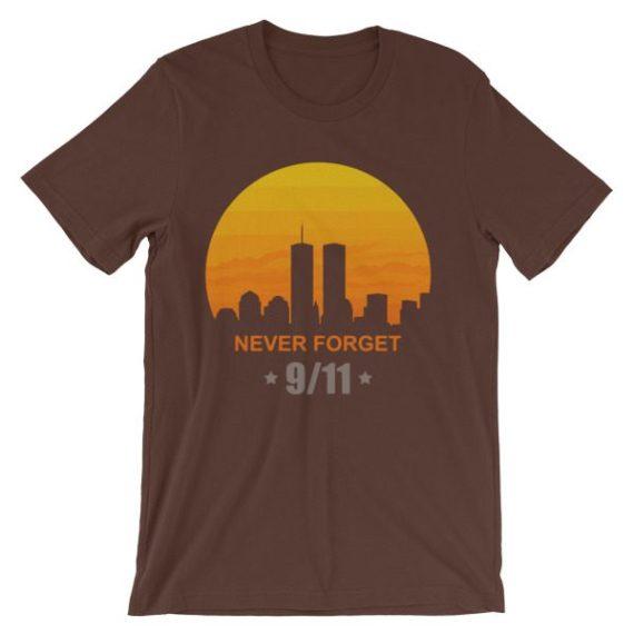 Unisex Never Forget 9/11 short sleeve t-shirt