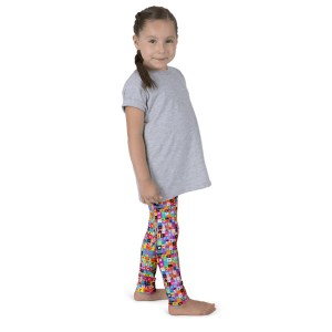 Letters of Alphabet Kid's leggings