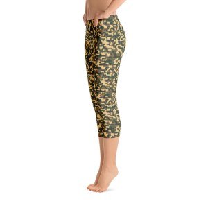 Military Fashion Camouflage Capri Leggings – RUNNING PANTS