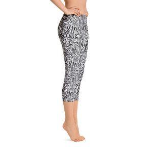 Zebra Capri Leggings – RUNNING PANTS