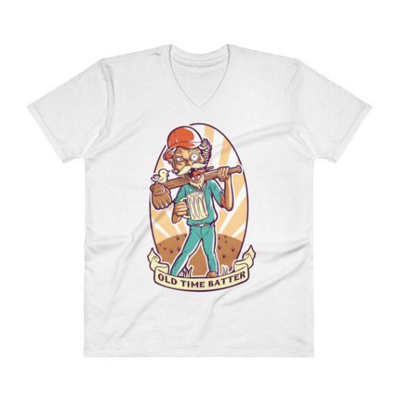 Baseball V-Neck T-Shirt