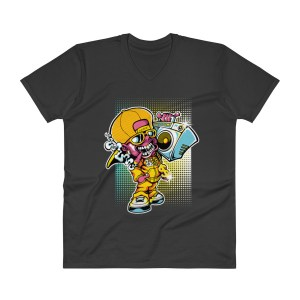Cartoon character V-Neck T-Shirt