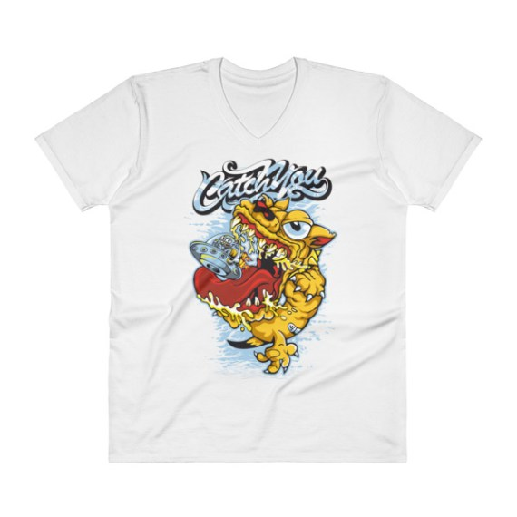 Comic V-Neck T-Shirt