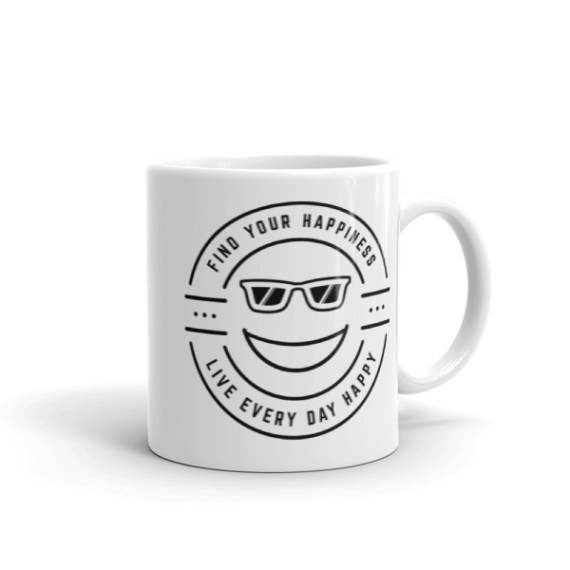 Find Your Happiness – 11oz Mug