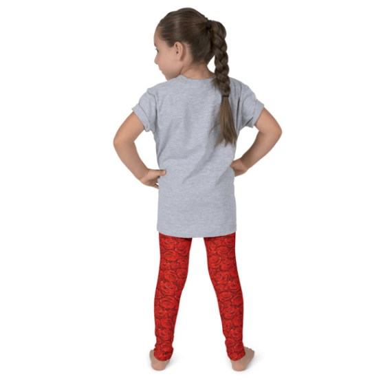 Red Roses Kid's leggings