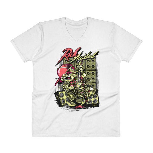 Rock Star V-Neck T-Shirt