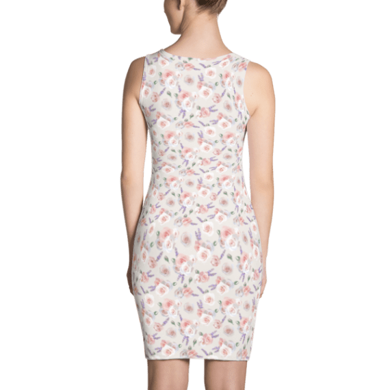 Roses and Lavender Dress