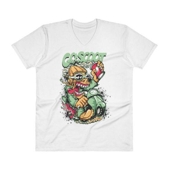 Scooter V-Neck T-Shirt