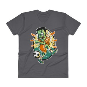 Soccer V-Neck T-Shirt