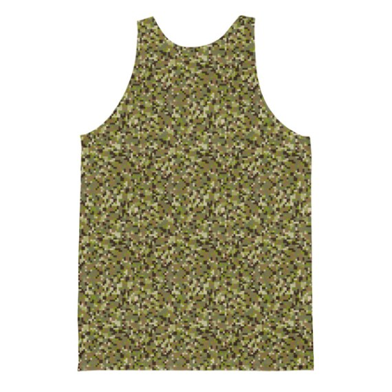 Unisex Camouflage Classic Fit Tank Top