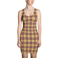 Women's Casual Plaid Dress