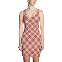 Women's Classic Tartan Plain Dress
