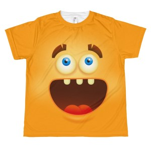 youth Funny Laughing Smiley Face T-Shirt - Emoji T shirt