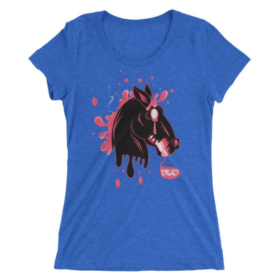 Ladies' Dead Horse short sleeve t-shirt