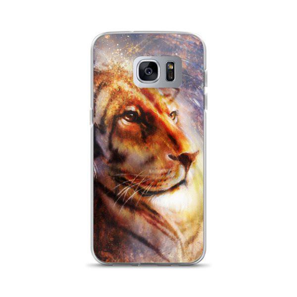 lion face Samsung Case