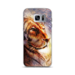 lion face Samsung Case
