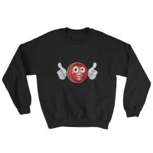Cricket Ball Emoji Sweatshirt