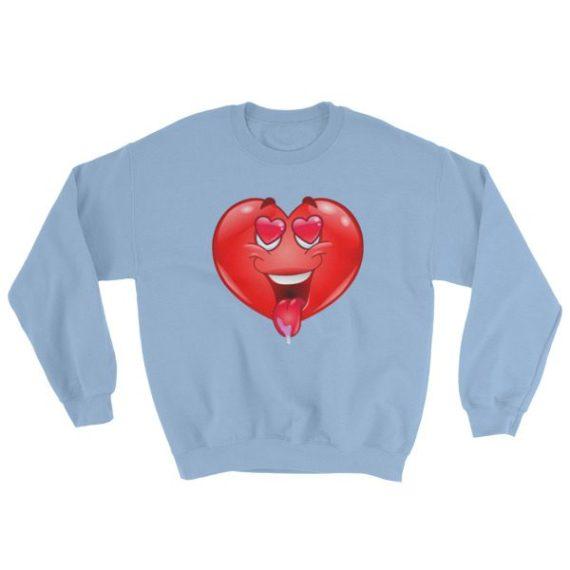 In love heart Sweatshirt