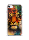 colorful tiger iPhone Case