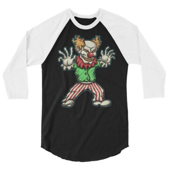 Evil Clown LONG-SLEEVE SHIRT