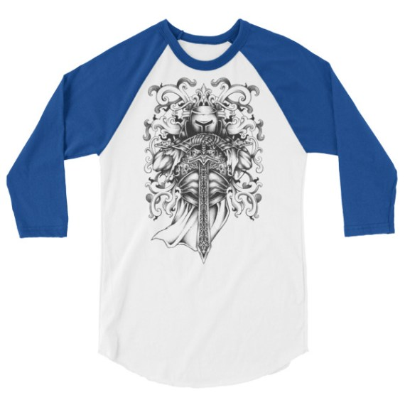 Knight and Armor LONG-SLEEVE SHIRT