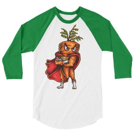 Super Carrot LONG-SLEEVE SHIRT