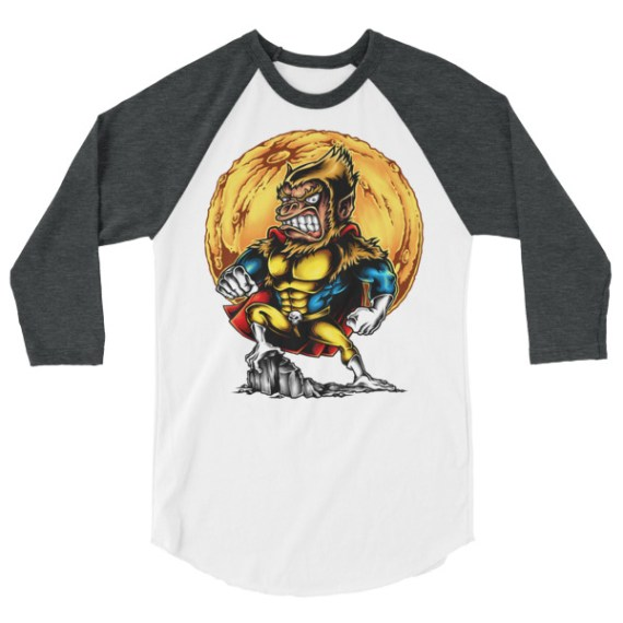 Super Monkey LONG-SLEEVE SHIRT