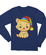 Unisex cute kitten Long Sleeve T-Shirt