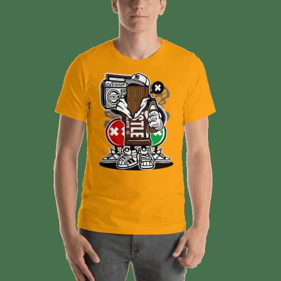 Chocolate Squad Short Sleeve Unisex T-Shirt