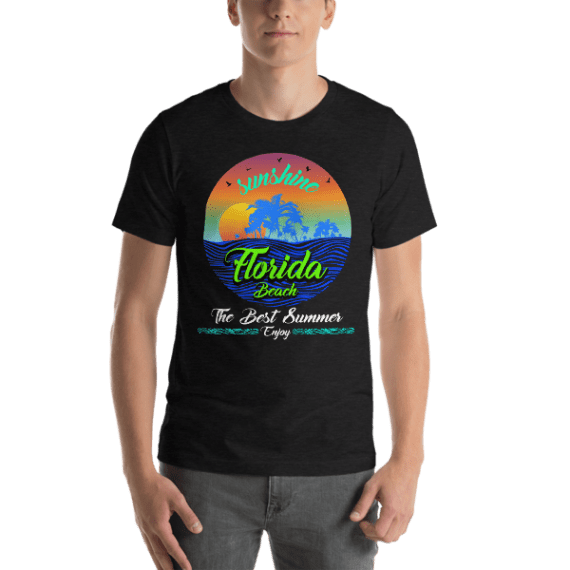 Enjoy the Best Summer in Florida Beach Short Sleeve Unisex T-Shirt
