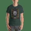 Evil wolf Short Sleeve Unisex T-Shirt