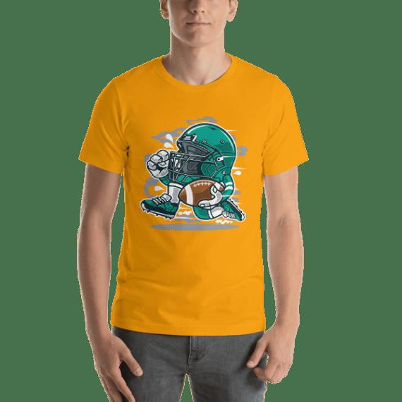 Football Player Short Sleeve Unisex T-Shirt