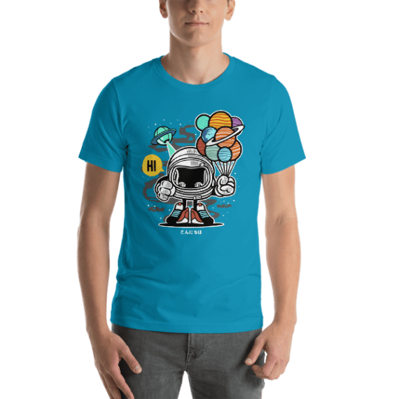 Gift From Outer Space Short Sleeve Unisex T-Shirt