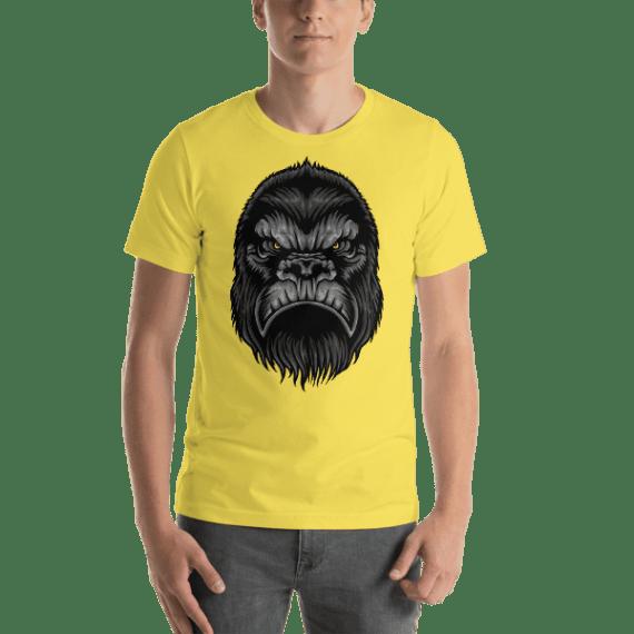 Gorilla Loyalty and Leadership Short Sleeve Unisex T-Shirt