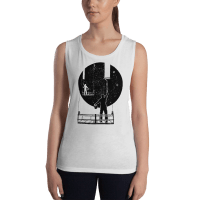 Ladies' Paint the Sky Muscle Tank Top