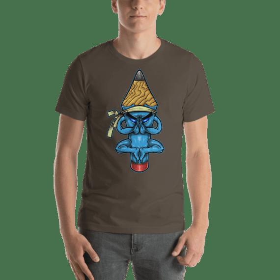 Pencil Monk Short Sleeve Unisex T-Shirt